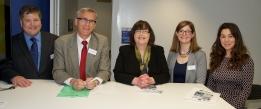 Prof. Ciaran Murphy, Prof Anita Maguire & HISRC Co-Directors