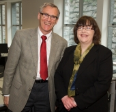 Prof. Ciaran Murphy and Prof. Anita Maguire